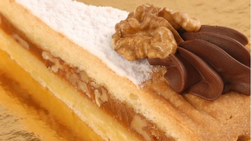 Торт Орехово-карамельный